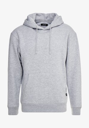 JJESOFT SWEAT HOOD NOOS - Hættetrøjer - light grey melange