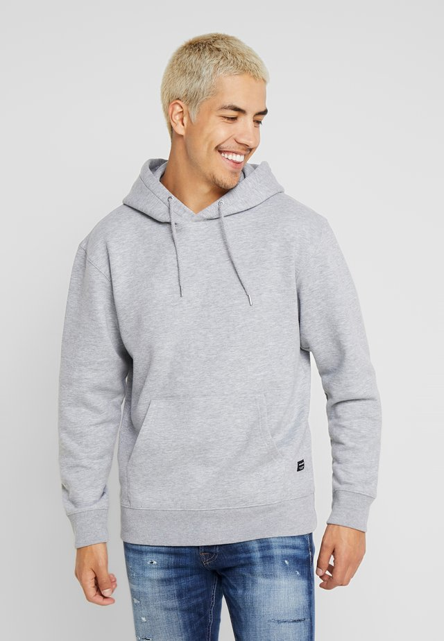 JJESOFT SWEAT HOOD NOOS - Jersey con capucha - light grey melange