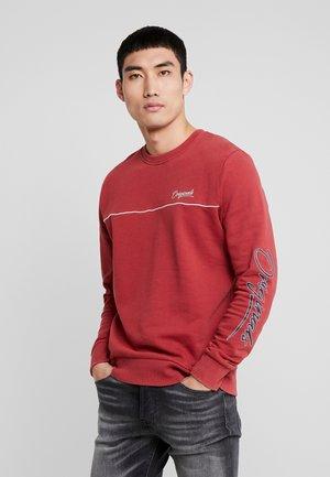 JORWEST CREW NECK - Sweatshirts - brick red
