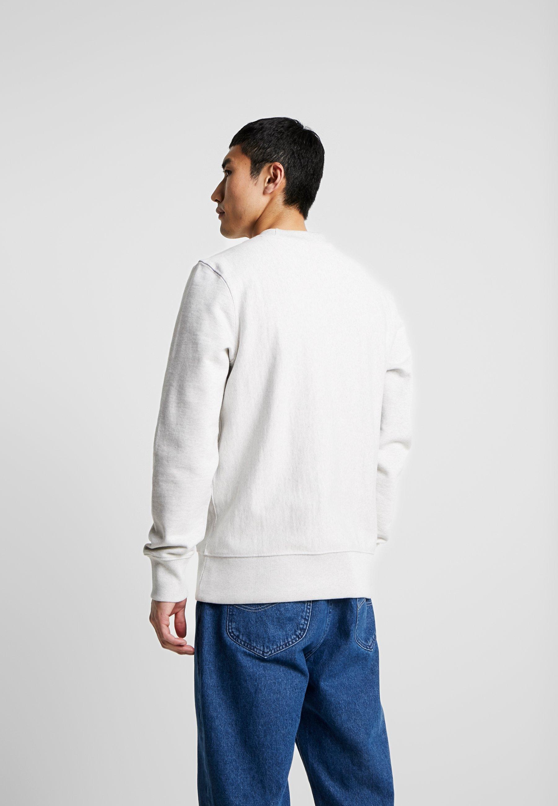 rdd Jones Crew Basic NeckSweatshirt Melange White Jackamp; Jj SAc5R43qjL