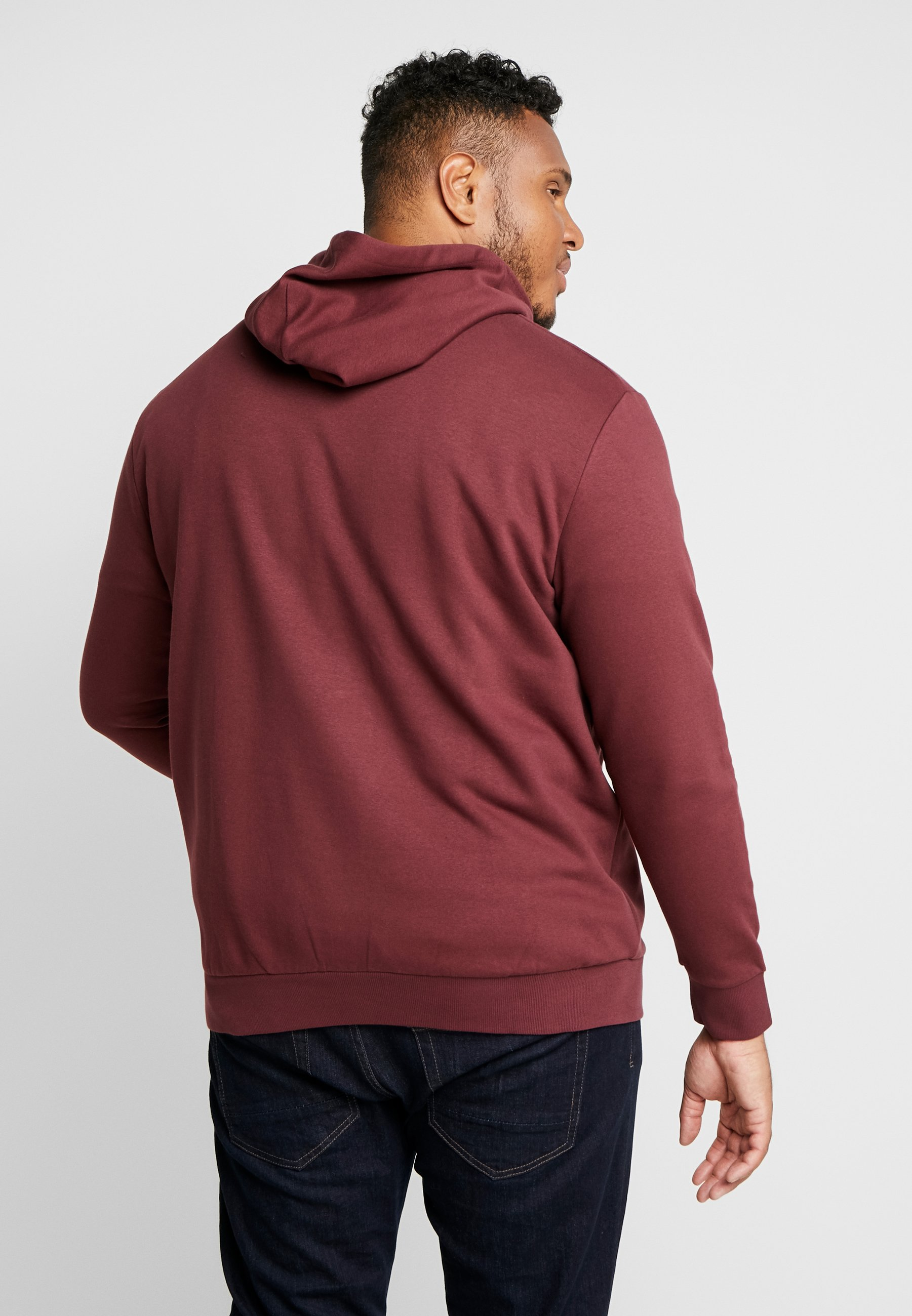 Jack & Jones JJELOGO HOOD - Kapuzenpullover port royale
