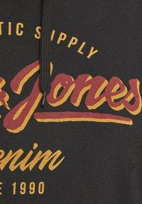 Jack & Jones - JJELOGO HOOD - Sweat à capuche - black - 3