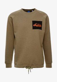 Jack & Jones - JORYUKON CREW NECK - Sweatshirt - dusty olive