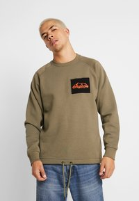 Jack & Jones - JORYUKON CREW NECK - Sweatshirt - dusty olive - 0