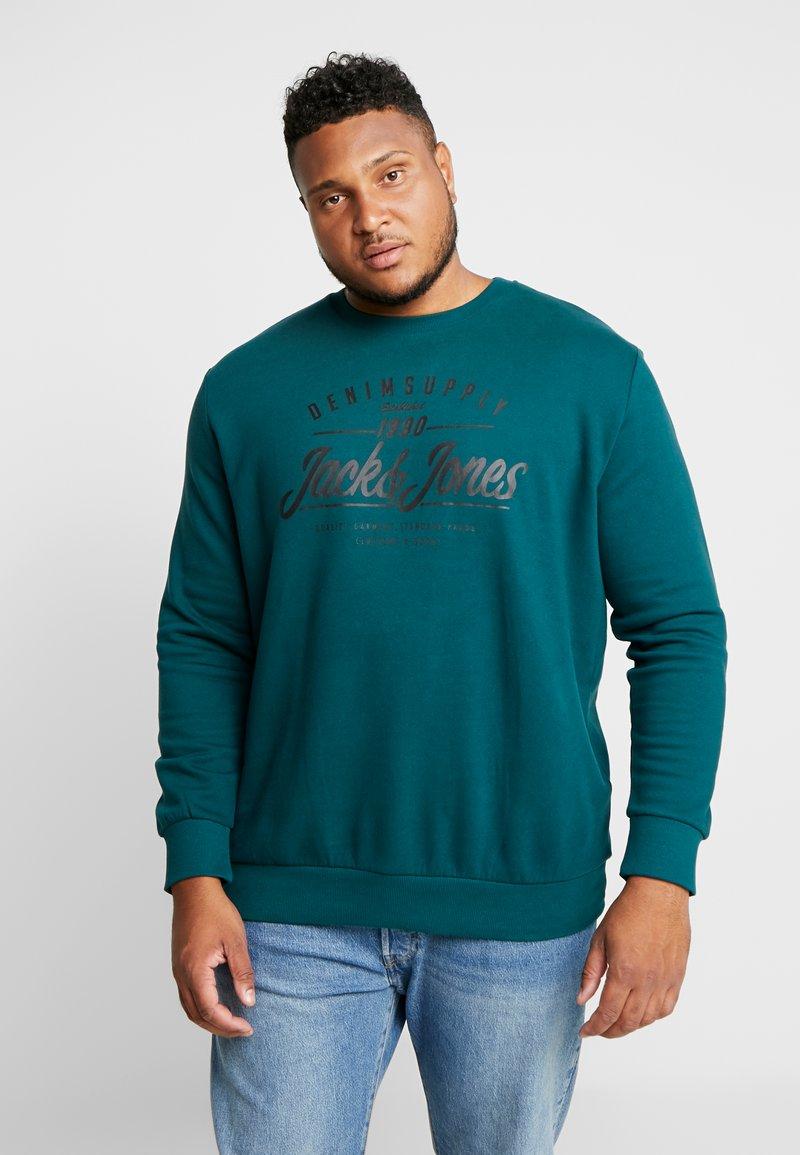 Jack & Jones - JORLIFE CREW NECK  - Sweatshirts - sea moss