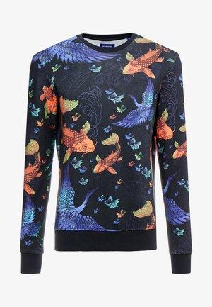 JORFEENY CREW NECK - Sweater - navy blazer