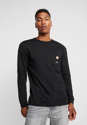JCOJIMI TEE CREW NECK - Langarmshirt - black
