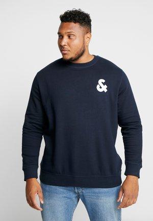 JJECHEST LOGO CREW NECK NOOS - Sweatshirt - navy blazer