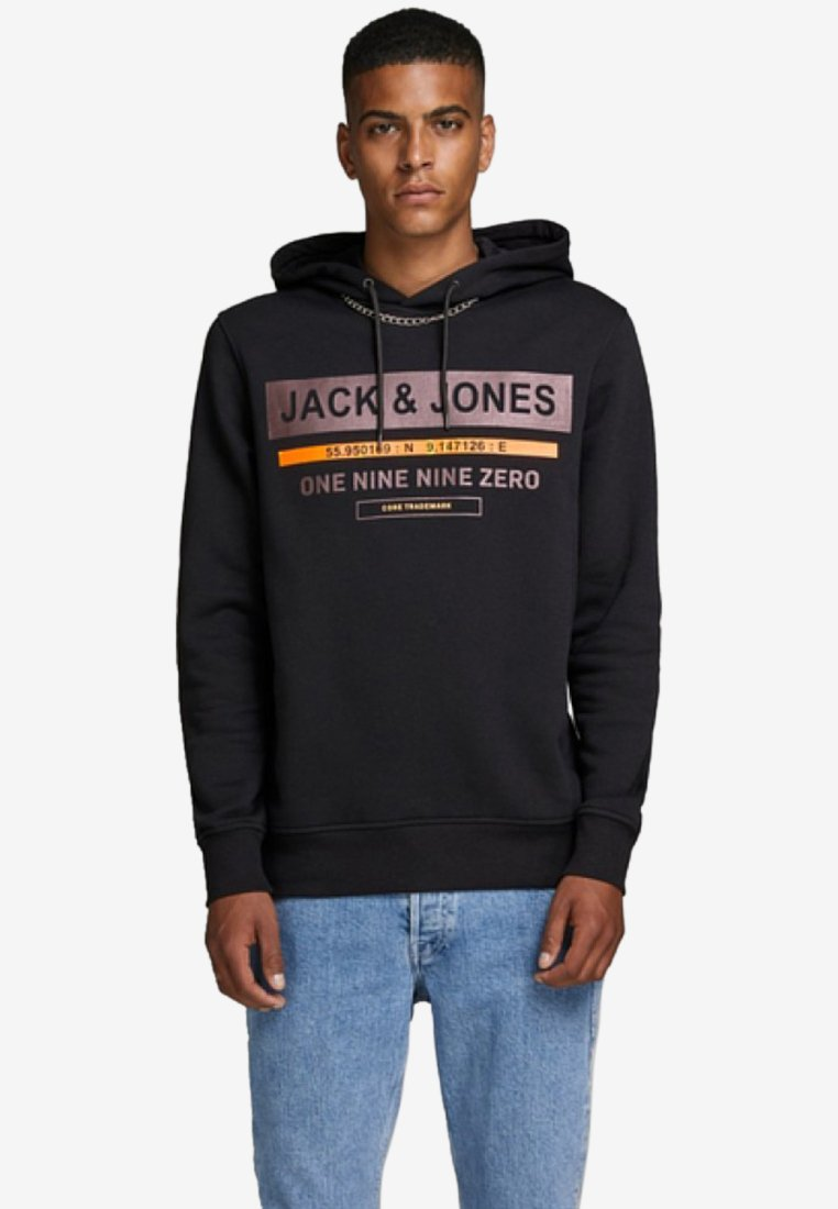 Jones Felpa Cappuccio Black Jackamp; Con OX0wPN8nkZ