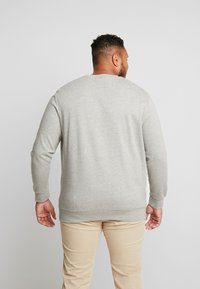 Jack & Jones - JORSNOWFALL CREW NECK  - Sweatshirt - light grey melange - 2