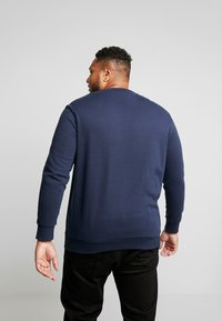 Jack & Jones - JORSNOWFALL CREW NECK  - Mikina - navy blazer