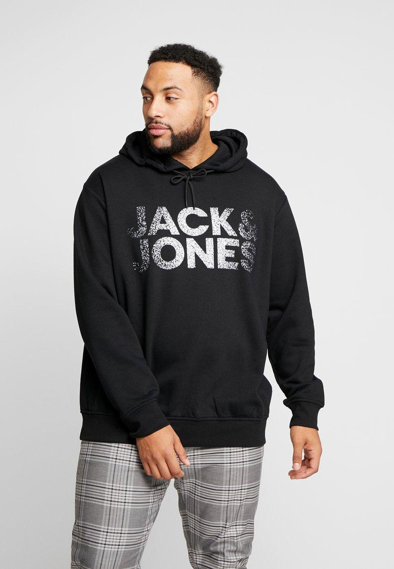 Jack & Jones - JCOTHUNDER HOOD - Huppari - black