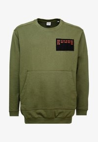 Jack & Jones - JCOUNDERS CREW NECK - Sweatshirt - winter moss - 4