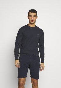 Jack & Jones - JORBASIC CREW NECK 2 PACK - Bluza - light grey melange - 2