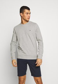 Jack & Jones - JORBASIC CREW NECK 2 PACK - Sweater - light grey melange - 1