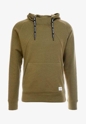 JCOBATTE HOOD HIGH NECK - Jersey con capucha - winter moss