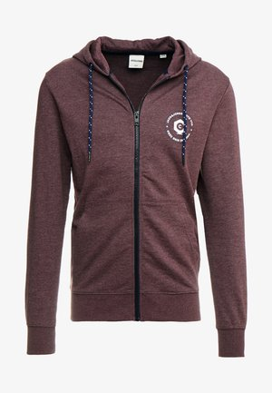 JCOSTRONGER HOOD - veste en sweat zippée - fudge