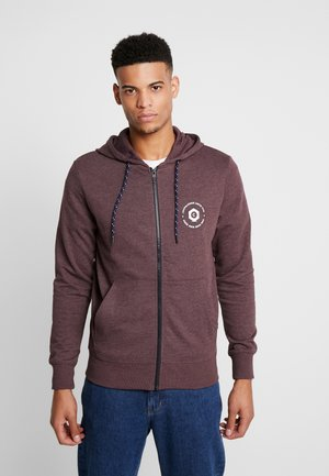 JCOSTRONGER HOOD - Zip-up hoodie - fudge