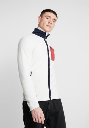JORSTAM ZIP HIGH NECK - Zip-up hoodie - silver birch