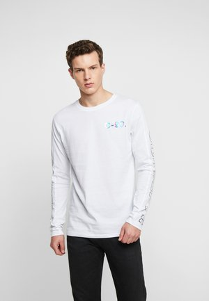 JCOMOST TEE CREW NECK REGULAR FIT - Long sleeved top - white