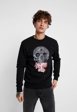 JORQUEEN CREW NECK - Sweatshirt - black