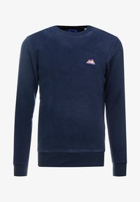 Jack & Jones - JORNORTH CREW NECK - Sweat polaire - navy blazer - 3