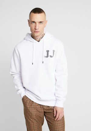JCOTHUNDER HOOD - Hoodie - white
