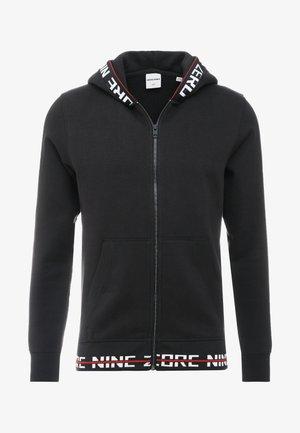 JCOEDDIE ZIP HOOD - Zip-up hoodie - black