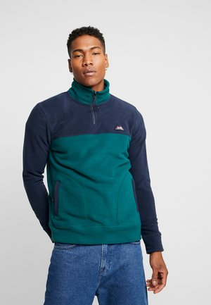 JORNORTH HALF ZIP - Bluza z polaru - sea moss