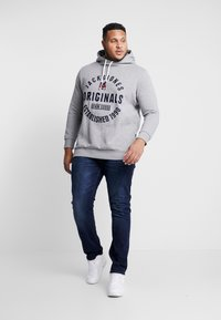 Jack & Jones - JORBRANDON HOOD  - Huppari - light grey melange - 1