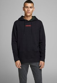 Jack & Jones - Kapuzenpullover - black - 0