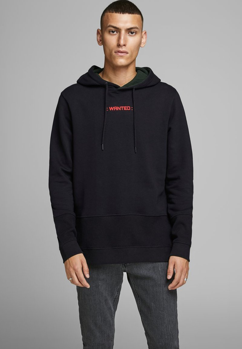 Jack & Jones - Kapuzenpullover - black