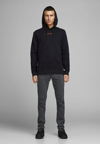 Jack & Jones - Kapuzenpullover - black - 1