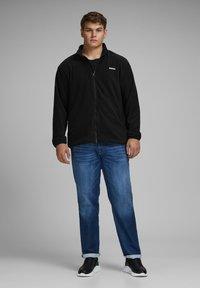Jack & Jones - REISSVERSCHLUSS - Zip-up hoodie - black - 1