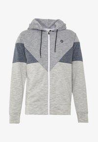 Jack & Jones - JCOTOOK ZIP HOOD - Zip-up hoodie - grey - 3