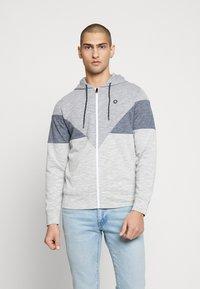 Jack & Jones - JCOTOOK ZIP HOOD - Zip-up hoodie - grey - 0