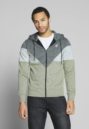 JCOTOOK ZIP HOOD - veste en sweat zippée - winter moss