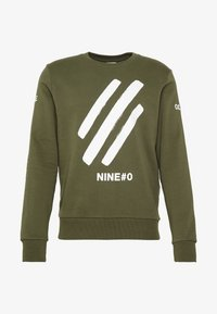 Jack & Jones - JCOHOLM CREW NECK - Sweatshirt - dusty olive - 3