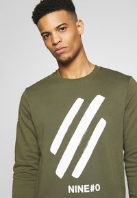 Jack & Jones - JCOHOLM CREW NECK - Sweatshirt - dusty olive - 2
