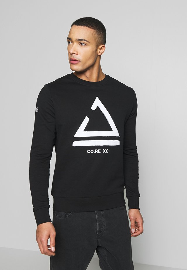 JCOHOLM CREW NECK - Sweatshirt - black