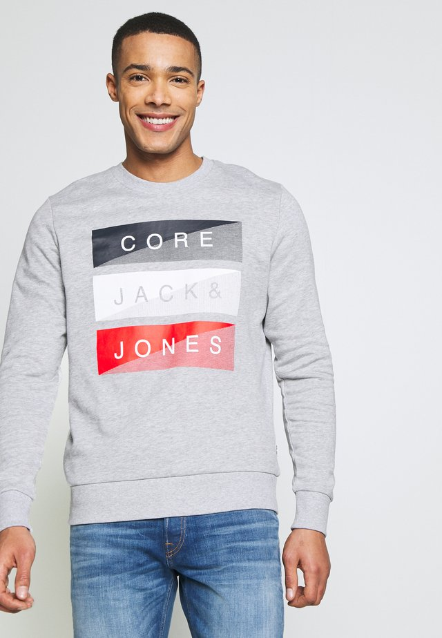 COBERNDA CREW NECK  - Sudadera - light grey melange