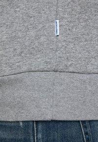 Jack & Jones - Kapuzenpullover - light grey melange - 4