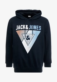 Jack & Jones - JCOBOOSTER HOOD - Sweat à capuche - sky captain - 4