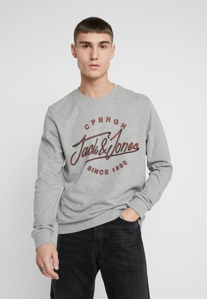 JORPEX CREW NECK  - Bluza - light grey melange