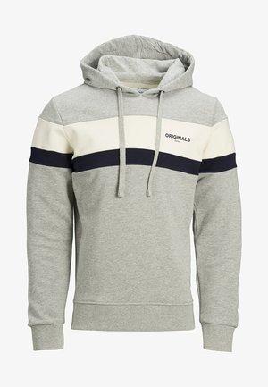 JORDUAL  - Hoodie - light grey melange