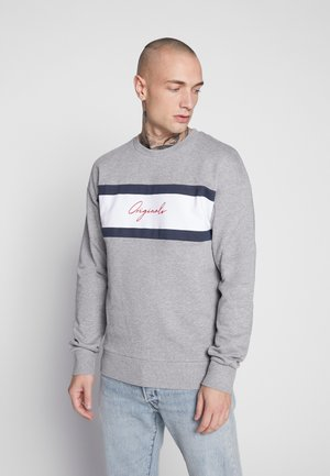 JORCUBO CREW NECK - Sweatshirt - light grey