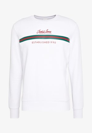 JCOBERND CREW NECK - Sweatshirt - white