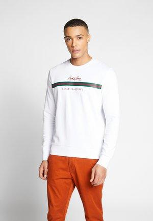 JCOBERND CREW NECK - Sweatshirt - white