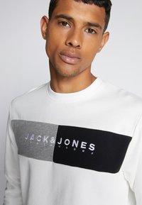 Jack & Jones - JORCALLIS - Sweatshirt - white - 4