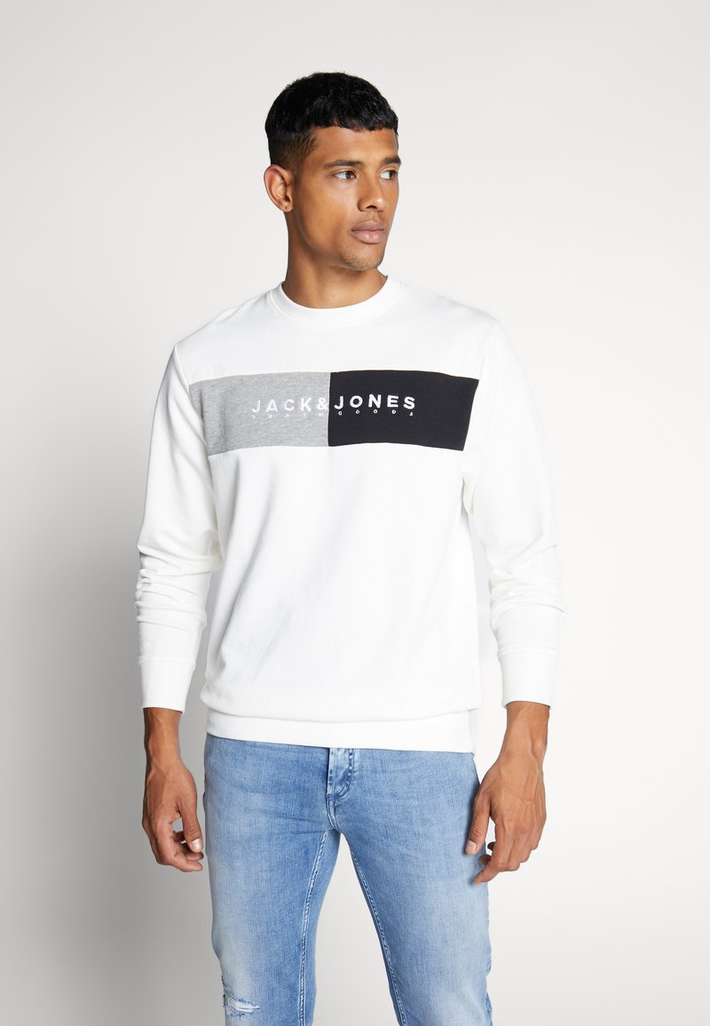 Jack & Jones - JORCALLIS - Sweatshirt - white